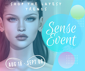 Sense Event Package A July 18 – August 17 300×250 Ad