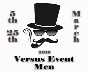 Versus Men Ad Package A Mar 5 – Mar 19 300×250