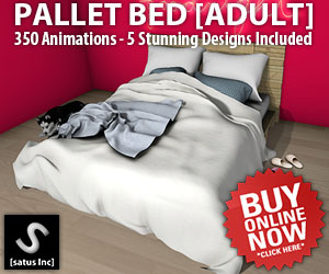 [satus Inc] Pallet Bed Adult 300×250
