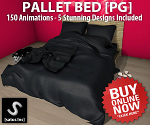 [satus Inc] Pallet Bed PG 300×250