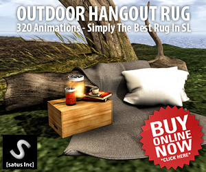 [satus Inc] Outdoor Hangout Rug Ad 300×250