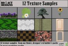 12 Texture Samples Pack Set 1 by Ro!Act Designs - Teleport Hub - teleporthub.com