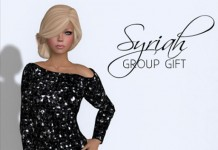 Syriah Mesh Dress by Amour Fashion - Teleport Hub - teleporthub.com
