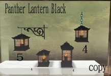 Panther Lantern Black-box by Lady Bunny - teleporthub.com