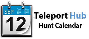 Teleport Hub's Second Life Hunt Calendar