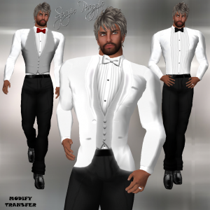 MODELO 484 Tuxedo Group Gift by HIPNOSE - Teleport Hub - teleporthub.com