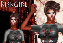 RiskGirl January Group Gift by Ydea - Teleport Hub - teleporthub.com