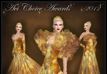 Avi Choice Awards 2012 Gown Group Gift by Sascha's Designs - Teleport Hub - teleporthub.com