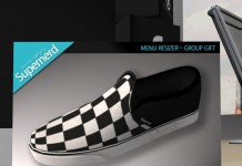 Checkered Slip-on Shoes Group Gift by Supernerd - Teleport Hub - teleporthub.com