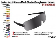 Ultimate Mesh Shades / Sunglasses - Unisex (15 in 1) by [satus Inc] - Teleport Hub - teleporthub.com