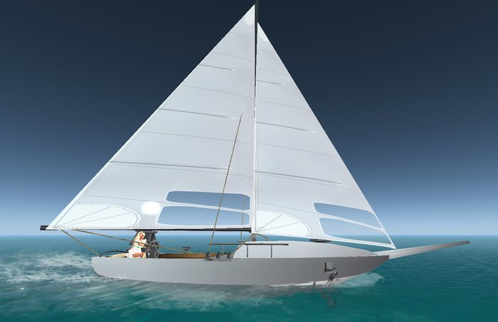 17 Prim Sail Boat Public Version by NEKKA *only 1L* - Teleport Hub - Teleprthub.com