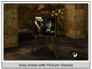 Easy Easel with Automatic Picture Viewer by Zen Creations - Teleport Hub - teleporthub.com