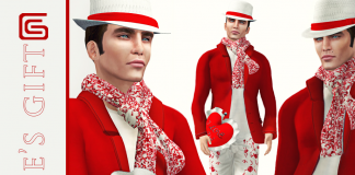 Male Valentine Group Gift by GIZZA CREATIONS - Teleport Hub - teleporthub.com
