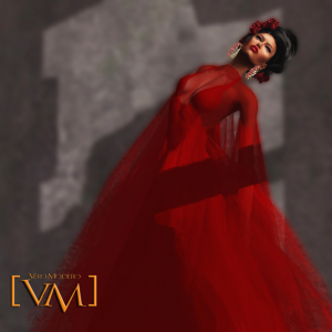 Red Dress Female February Group Gift by Vero Modero - Teleport Hub - teleporthub.com