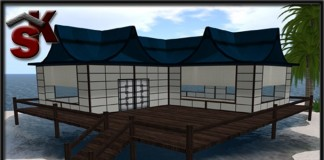 Japanese Beach House by SK - Teleport Hub - teleporthub.com