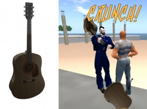 Free Smashable Guitar Melee Weapon by ShortPieceOf String - Teleport Hub - teleporthub.com