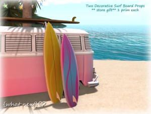 Two Decorative Surfboards by {what next} - Teleport Hub - teleporthub.com