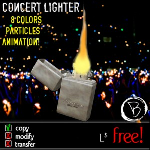 Concert Lighter by Vittorio Beerbaum - Teleport Hub - teleporthub.com