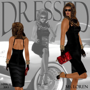 Black Dress and Accessories March 2013 Group Gift by Lexi - Teleport Hub - teleporthub.com