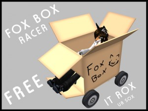 Fox Box Racer by [ZEON] - Teleport Hub - teleporthub.com