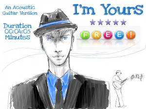 Acoustic Guitar Song - I'm Yours by AV Instrumental Production - Teleport Hub - teleporthub.com