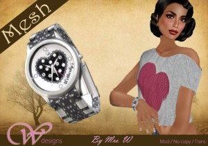Womanity Luxury Watches 001 by Womanity Designs - Teleport Hub - teleporthub.com