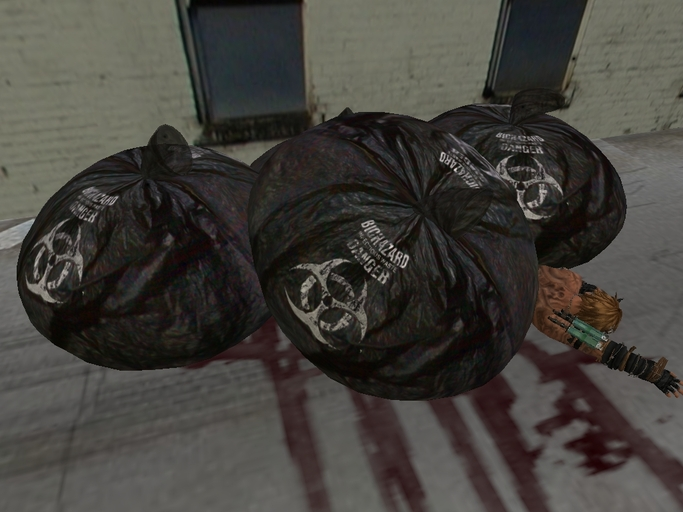 Body Under Trash Bags Full Perm by Astin Miles - Teleport Hub - teleporthub.com