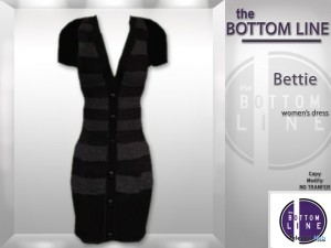 Long Sweater Dress Bettie by The Bottom Line - Teleport Hub - teleporthub.com