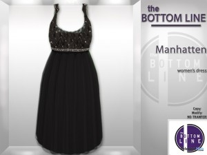 Manhatten Dress by The Bottom Line - Teleport Hub - teleporthub.com