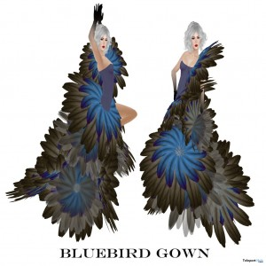 Bluebird Dress Group Gift by Boudoir - Teleport Hub - teleporthub.com