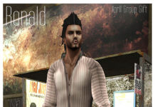 Ronald Male Outfit April 2013 Group Gift by Delirium Style - Teleport Hub - teleporthub.com