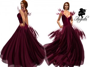 "Dea For Your Dance ""The Love"" Dress Promo by Augusta Creations (10L) - Teleport Hub - teleporthub.com"
