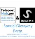 Teleport Hub Giveaway Party - Teleport Hub - teleporthub.com