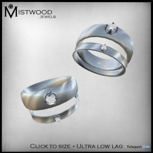 Silver & Diamonds Rings by Mistwood Jewels - Teleport Hub - teleporthub.com