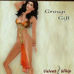 Slave Outfit Group Gift by Velvet Whip - Teleport Hub - teleporthub.com
