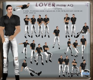 Lover Male AO by Tuty - Teleport Hub - teleporthub.com