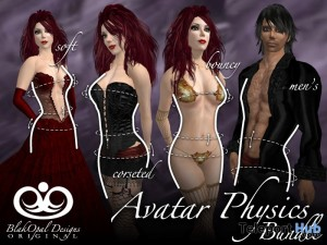 Avatar Physics Bundle by BlakOpal Designs - Teleport Hub - teleporthub.com