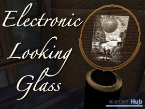 Electronic Looking Glass by BlakOpal Designs - Teleport Hub - teleporthub.com