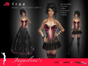 Jaqueline Dress by Jaqueline Beaumont - Teleport Hub - teleporthub.com