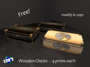 Wooden Chests by LOK - Teleport Hub - teleporthub.com
