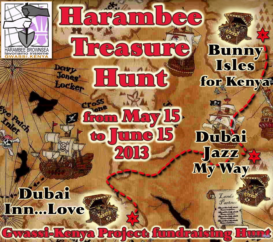 Harambee Treasure Hunt - Teleport Hub - teleporthub.com