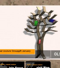 The Book Tree Group Gift by 22769 Casual Couture - Teleport Hub - teleporthub.com