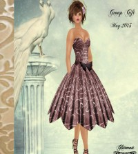 Dress May 2013 Group Gift by Glitterati By Sapphire - Teleport Hub - teleporthub.com