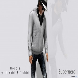 Mesh Hoodie With Shirt and T-Shirt by Supernerd - Teleport Hub - teleporthub.com