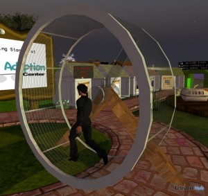 Hamster Wheel by Pet Adoption Center - Teleport Hub - teleporthub.com