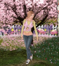 Happy Easter Outfit by Tiny Things - Teleport Hub - teleporthub.com