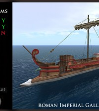 Imperial Red Roman Static Ship by Ars Navalis - Teleport Hub - teleporthub.com
