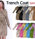 Trench Coat Package 12 Colors Limited Promo by Peta Grocery Store - Teleport Hub - teleporthub.com