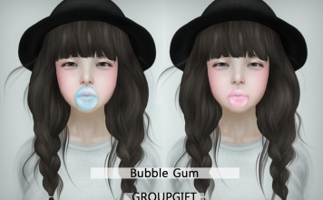 Bubble Gum Group Gift by AMIMOTO - Teleport Hub - teleporthub.com
