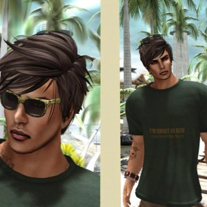 Loose T-Shirt and Sunglasses Group Gift by To Be Unique - Teleport Hub - teleporthub.com